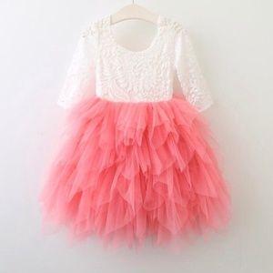 Other - Moderne Child Olivia V Lace Back Dress
